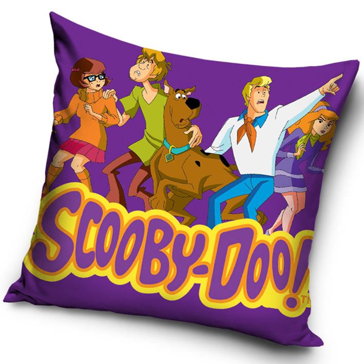 Carbotex Povlak na polštářek Scooby Doo Fialový