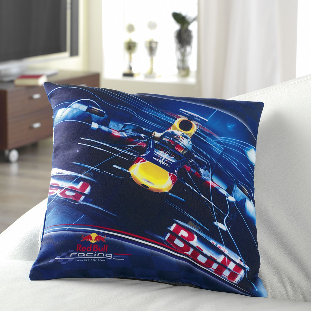 Global Labels Dekorační polštářek Red Bull Racing