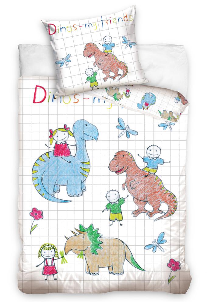 TipTrade s.r.o. Dětské povlečení Dino