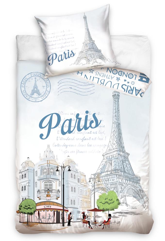 TipTrade s.r.o. Povlečení Paříž Eiffelova Věž