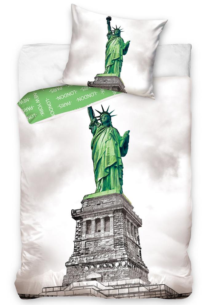 TipTrade s.r.o. Povlečení New York - Socha Svobody
