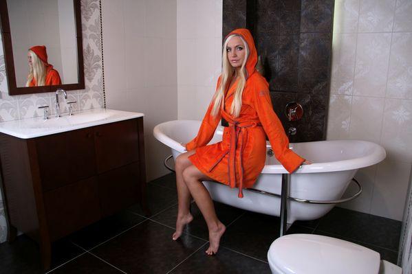 Župan Benetton Whippy - Oranžový Velikost: XL