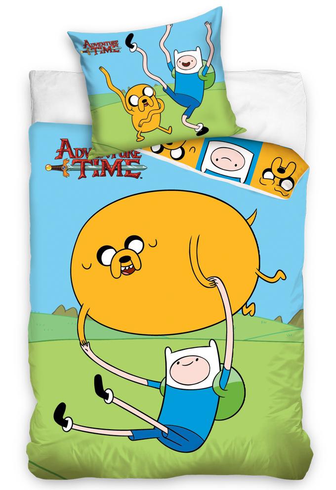 Carbotex Dětské povlečení Adventure Time - Čas na dobrodružství