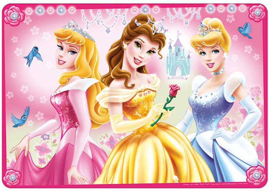 Carbotex Podložka na stůl 3D - Princess
