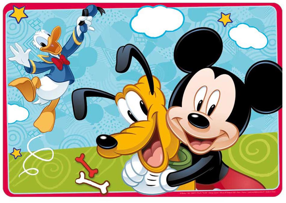 Carbotex Velká podložka na stůl 3D - Mickey
