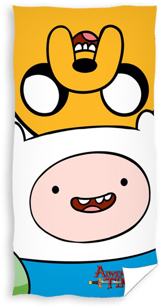 Carbotex Dětská osuška Adventure Time - Čas na dobrodružství