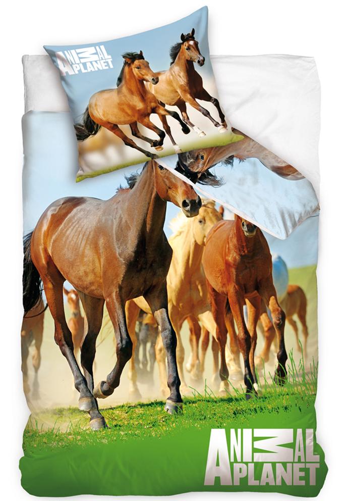 Carbotex Povlečení Animal Planet - Divocí Koně