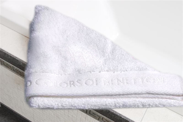 Froté ručník Benetton 50x100 - Bílý