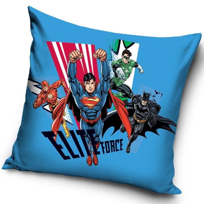 Carbotex Povlak na polštářek Justice League Elite Force