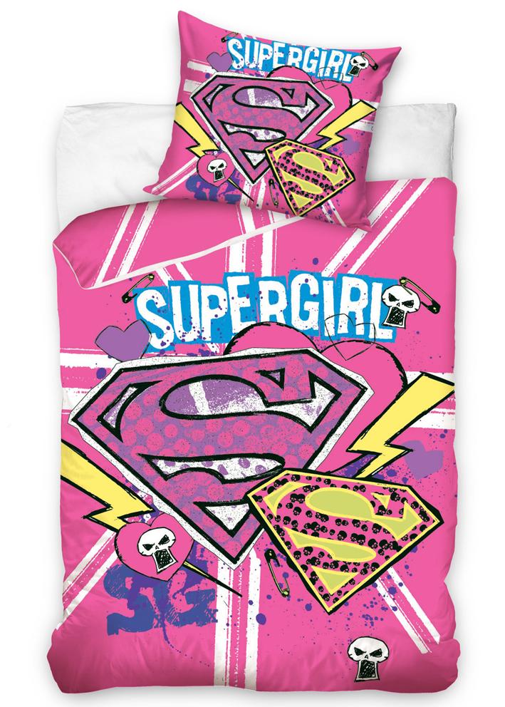 Carbotex Dětské povlečení Supergirl