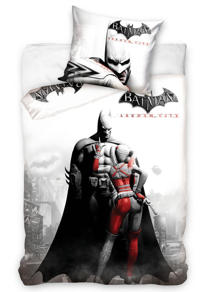 Carbotex Dětské povlečení Batman - Arkham City