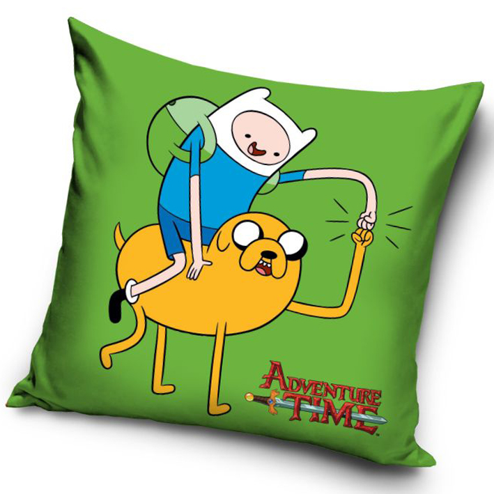 Carbotex Povlak na polštářek Adventure Time - Finn a Jake