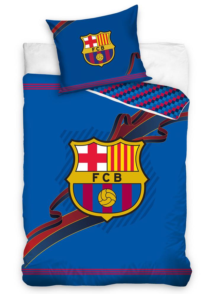Carbotex Fotbalové povlečení FC Barcelona Ribbon