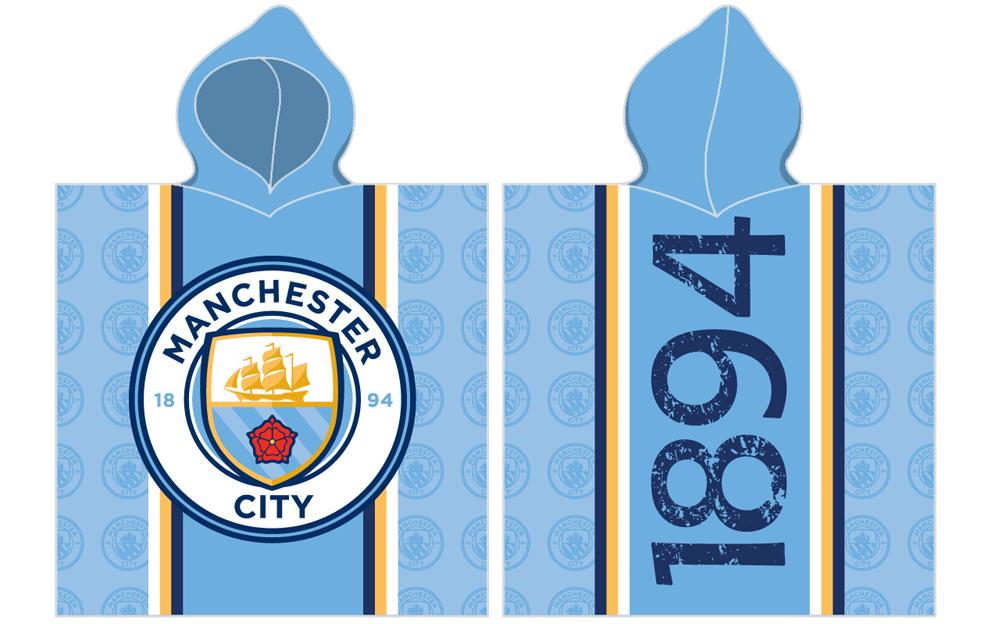 Dětské pončo Manchester City