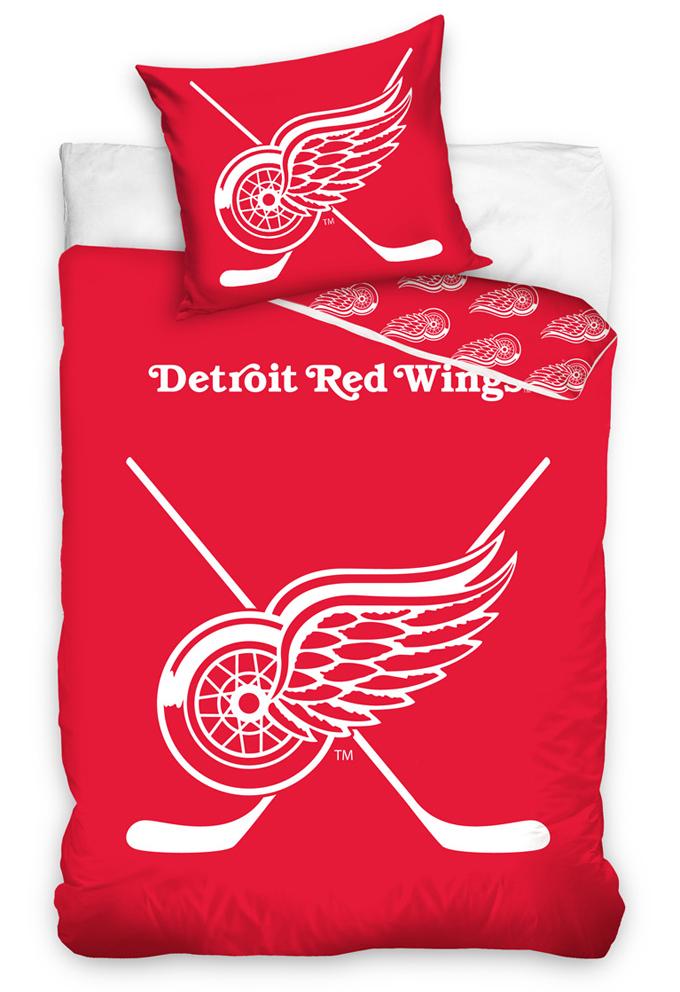 Svítící povlečení NHL Detroit Red Wings