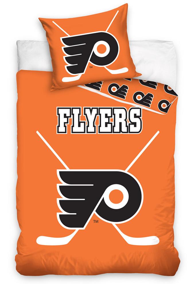 Svítící povlečení NHL Philadelphia Flyers