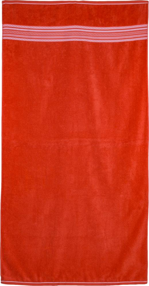 Plážová osuška Fisherman Červená