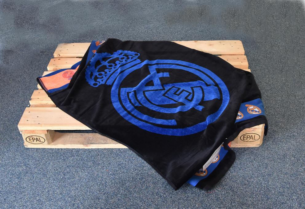 Fotbalová osuška Real Madrid Blue Black