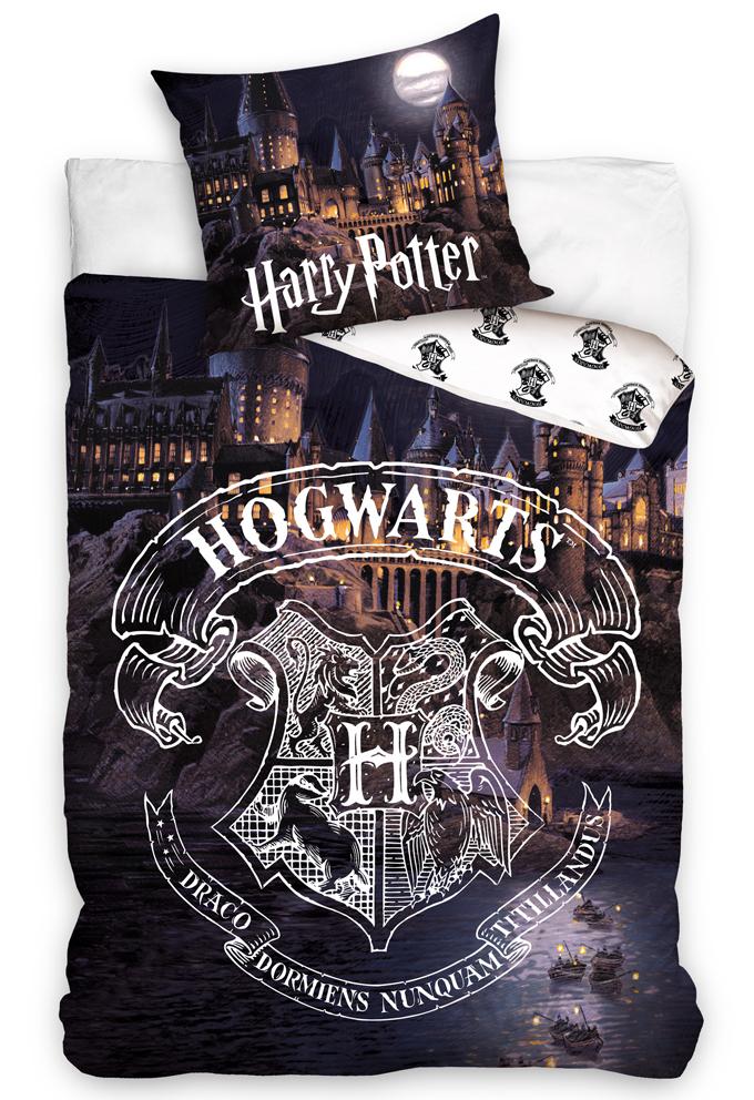 Dětské povlečení Harry Potter Bradavice