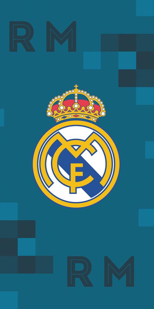 Fotbalová osuška Real Madrid Dados Blue