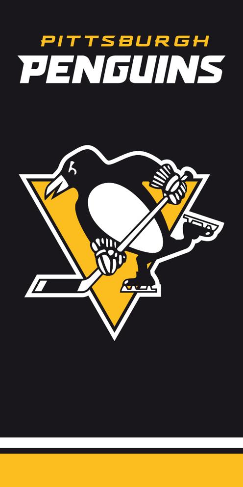 Osuška NHL Pittsburgh Penguins Black