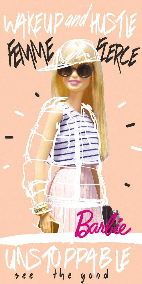 Dětská osuška Barbie Módní Ikona