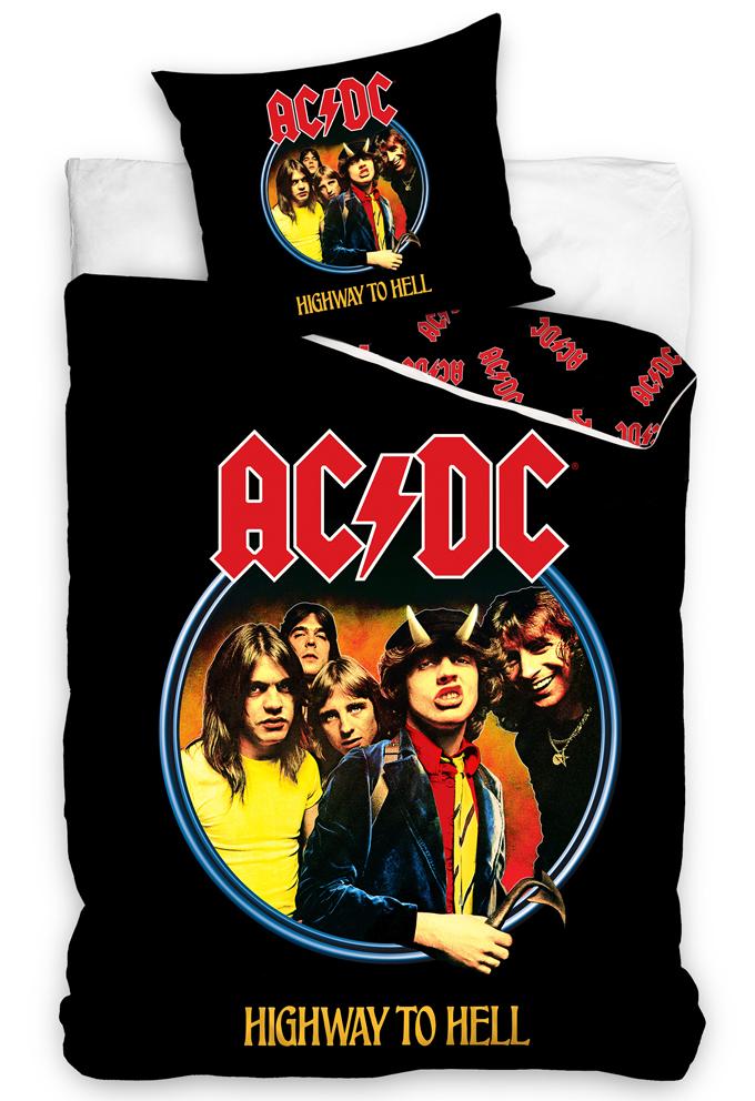 Bavlněné povlečení AC/DC Highway to Hell