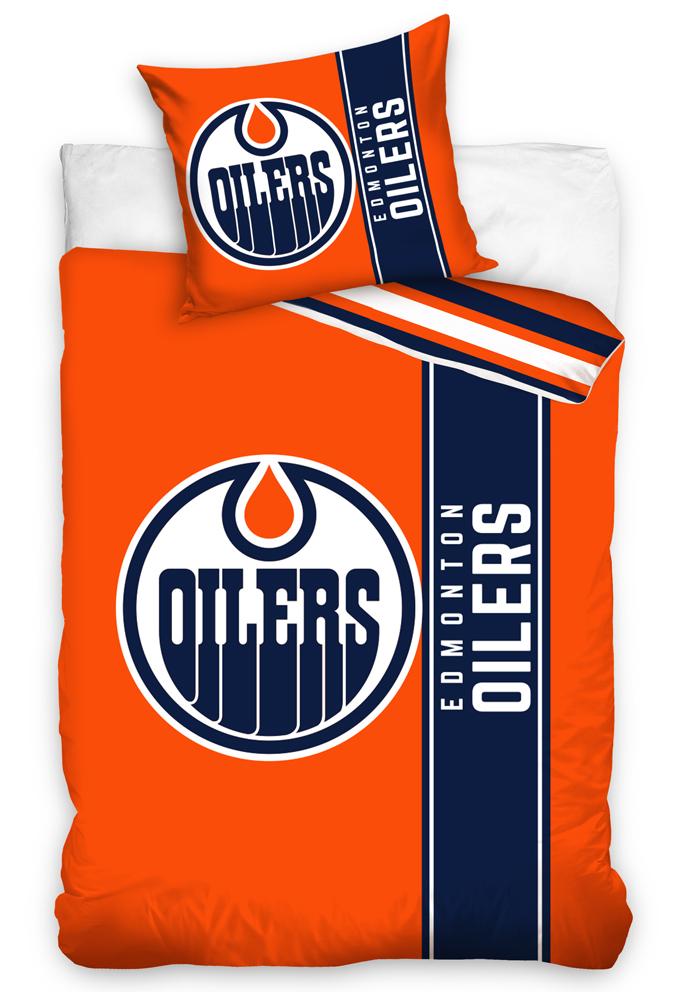 Hokejové povlečení NHL Edmonton Oilers Belt Velikost: 135x200 + 80x80 cm