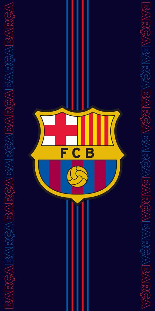 Fotbalová osuška  FC Barcelona Racing