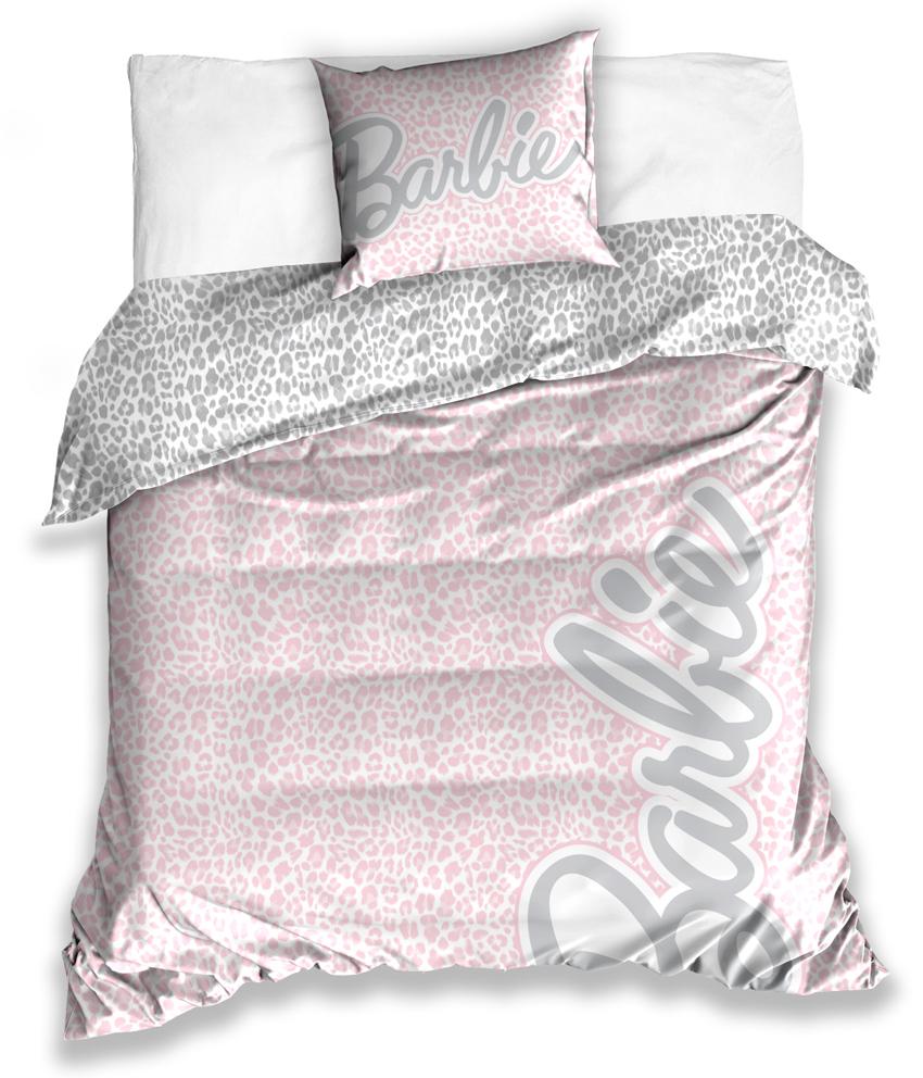 Saténové povlečení Barbie Velikost: 140x200 + 70x90 cm