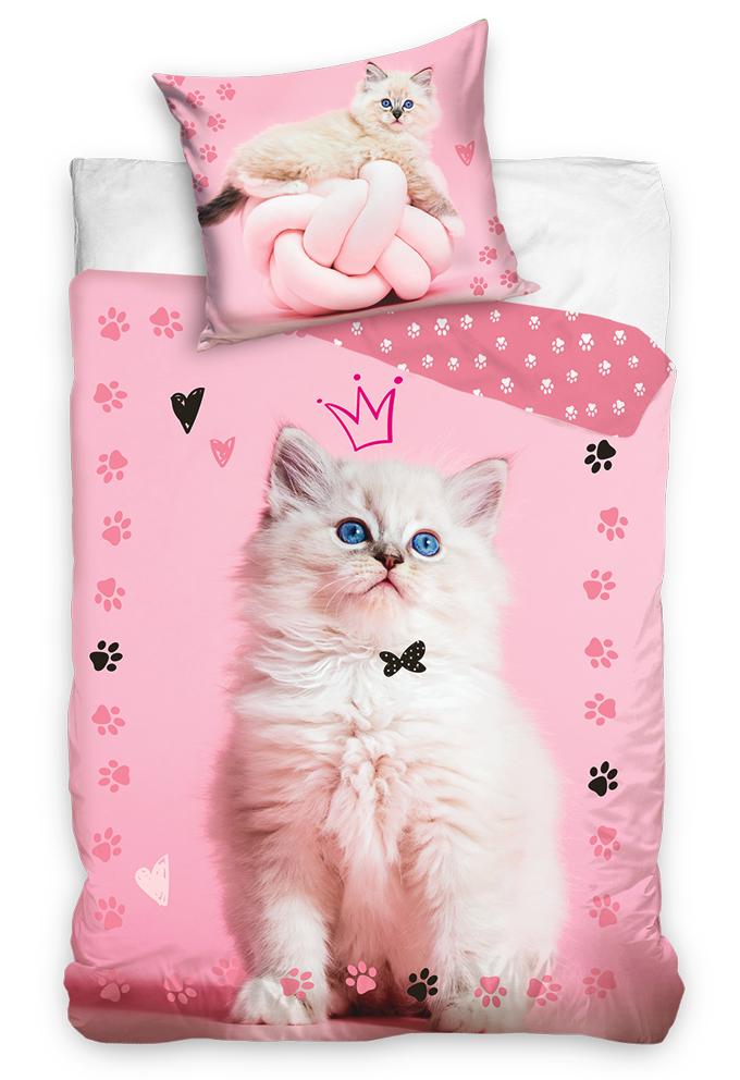 Bavlněné povlečení Kočička Princezna