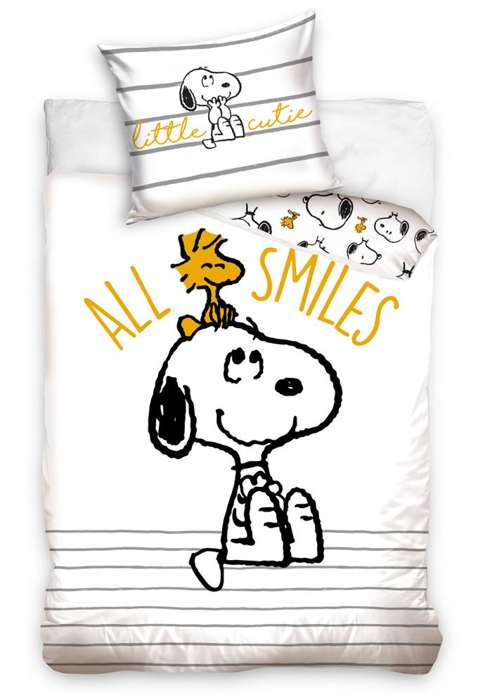Dětské povlečení Snoopy All Smiles