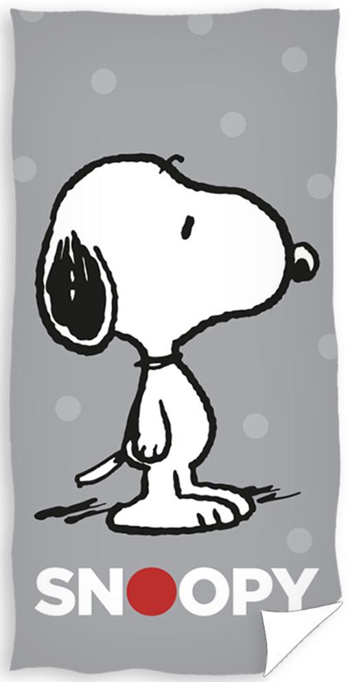 Dětská osuška Snoopy Grey