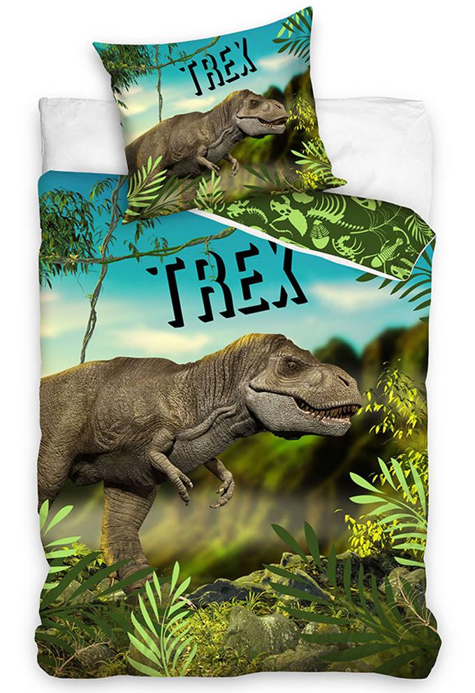 Dětské povlečení T-Rex v pralese