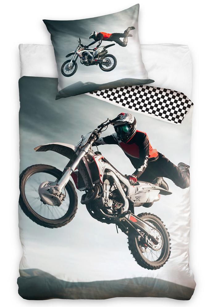 Bavlněné povlečení Freestyle Motocross