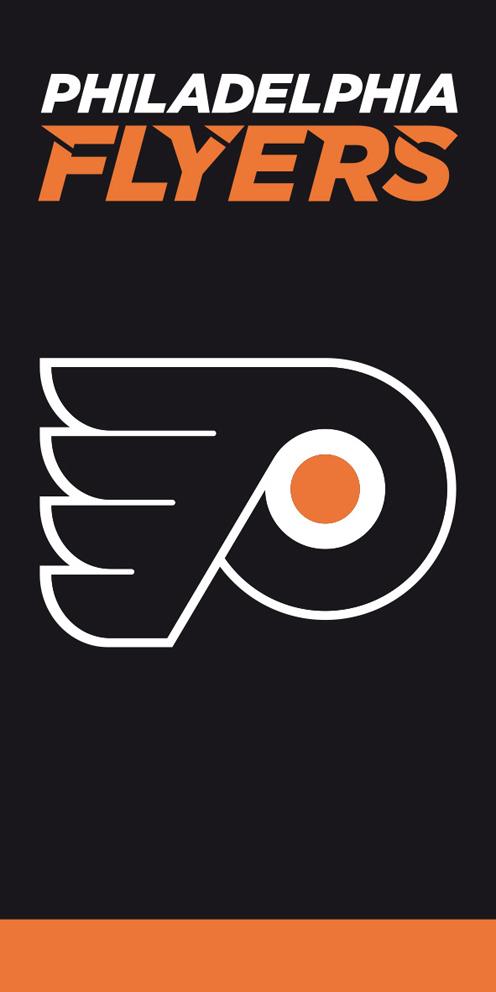 Osuška NHL Philadelphia Flyers Black