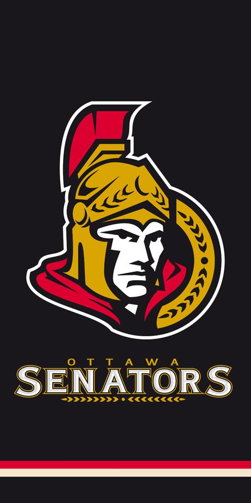 Osuška NHL Ottawa Senators Black