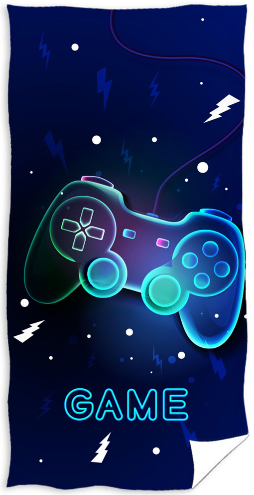 Froté osuška Game modrá