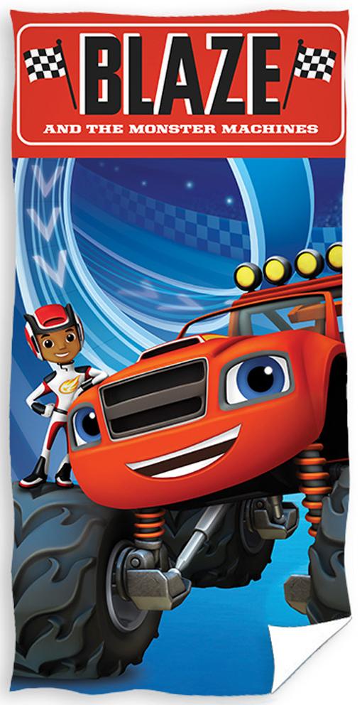 Dětská osuška Plamínek a Čtyřkoláci Monster Truck