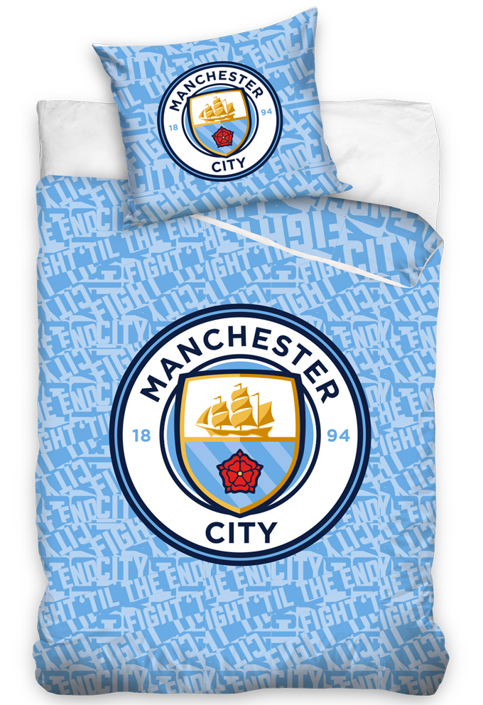 Svítící povlečení Manchester City
