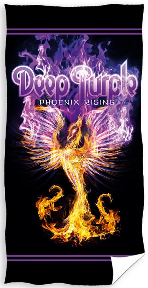 Carbotex 487361 Froté osuška Deep Purple Phoenix Rising 70x140 cm