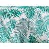 Bavlnene povleceni Palms Zelene BedTex detail