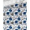 Bavlnene povleceni Flor Modre detail
