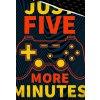 Bavlnene povleceni Gamer Jeste pet minut detail