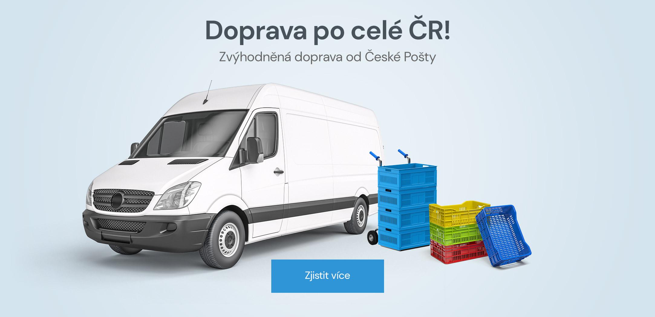 Doprava po celé ČR