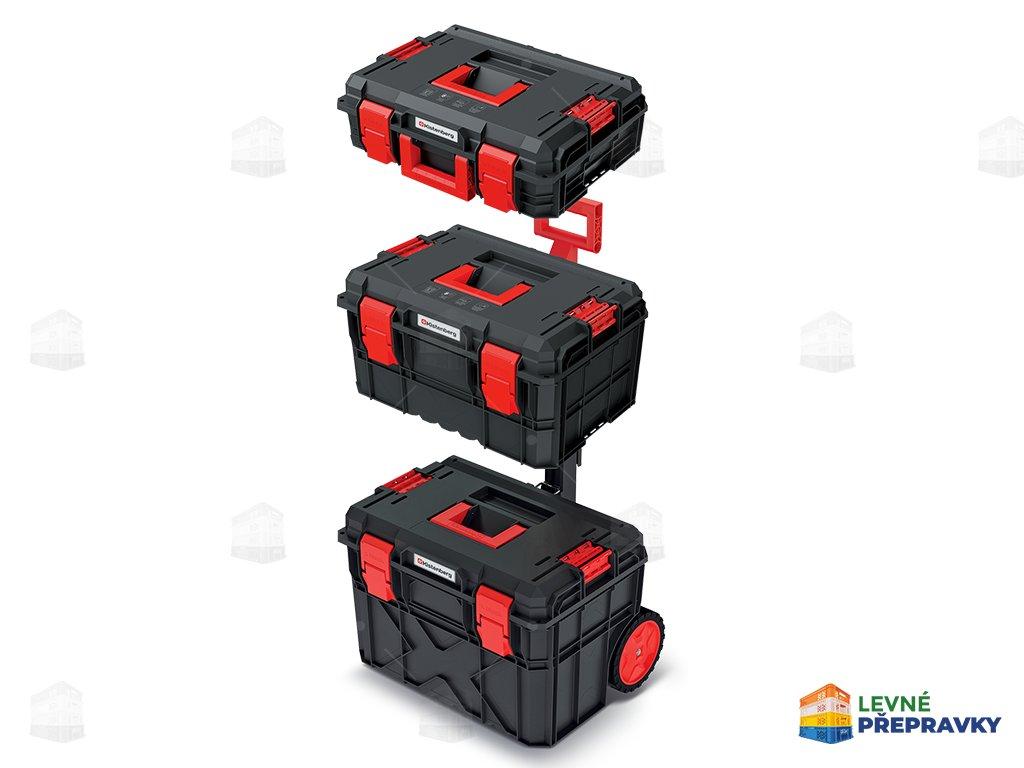 Pojízdná sada kufrů na nářadí X BLOCK 5
