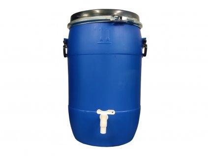 Plastový sud 50 L - s výpustným kohoutem