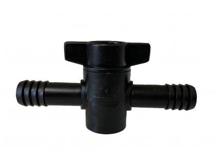 HF inline zavírací ventil