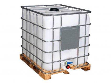 IBC kontejner 1000 L - Paleta dřevo
