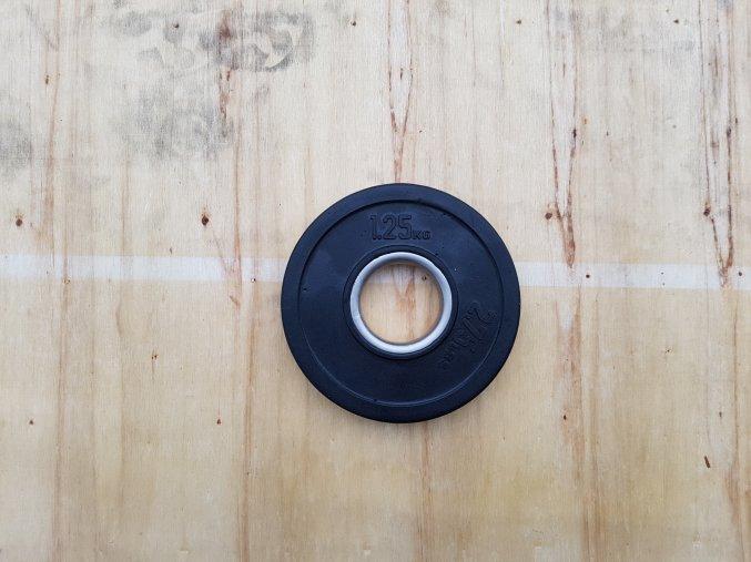 kotouč 1,25kg BUMPER 50mm